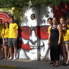 Cassina de' Pecchi, ieri stazione di posta e oggi ciclovia, si rinnova nel segno della Street Art