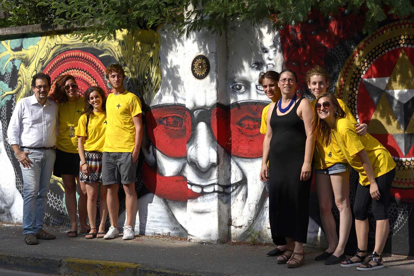 Cassina de' Pecchi, <br />ieri stazione di posta <br />e oggi ciclovia, <br />si rinnova nel segno <br />della Street Art