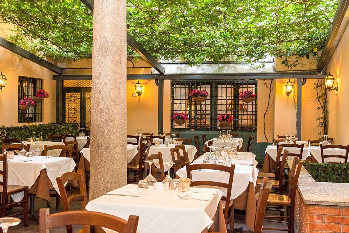I 50 migliori ristoranti con giardino all 39 aperto di milano - Trattoria con giardino milano ...