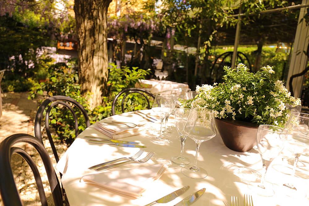 I 50 migliori <br />ristoranti con giardino <br />di Milano