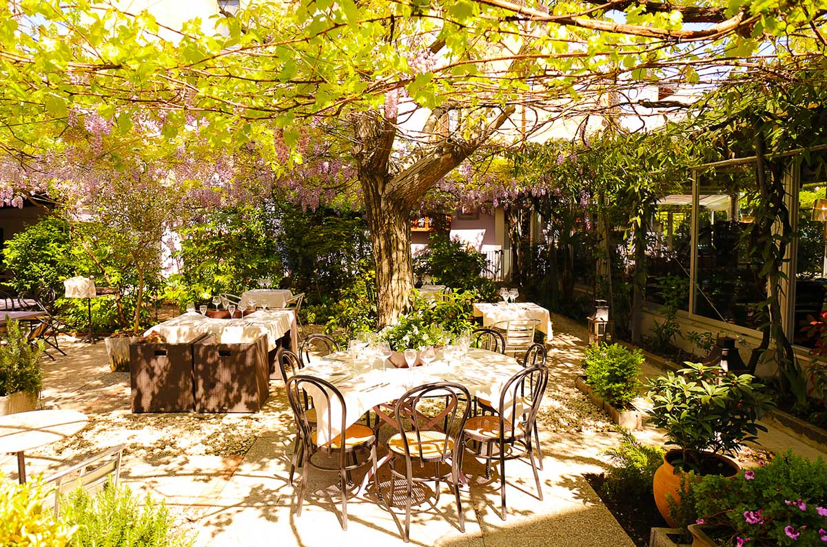 I 50 migliori ristoranti all 39 aperto di milano per l estate for Le petit jardin