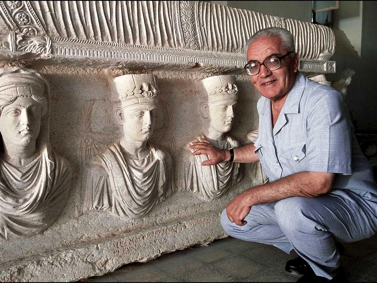 Così mi parlò Asaad, <br />l'eroico custode di Palmira <br />da non dimenticare