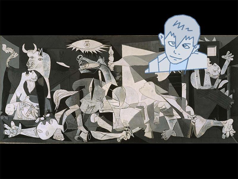 """Picasso bambino, geniale e dislessico. Dopo mamma e papà, pronunciò """"lapis"""""""