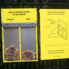 Da Londra arriva un'idea brillante per eliminare le cicche dalle strade