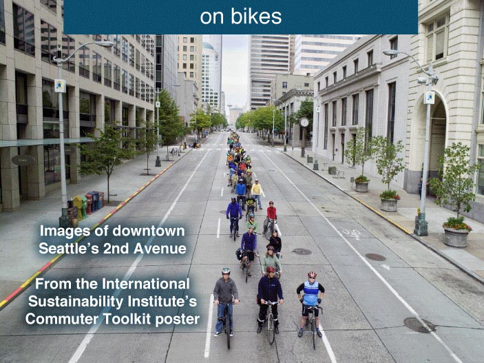 A proposito di mobilità sostenibile: <br />immagina, anzi no. Guarda qua…