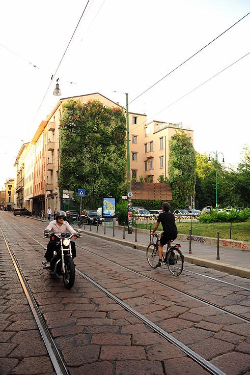 Giardino verticale, collaborazione con Temprano srl (C.so di Porta Ticinese, Milano).