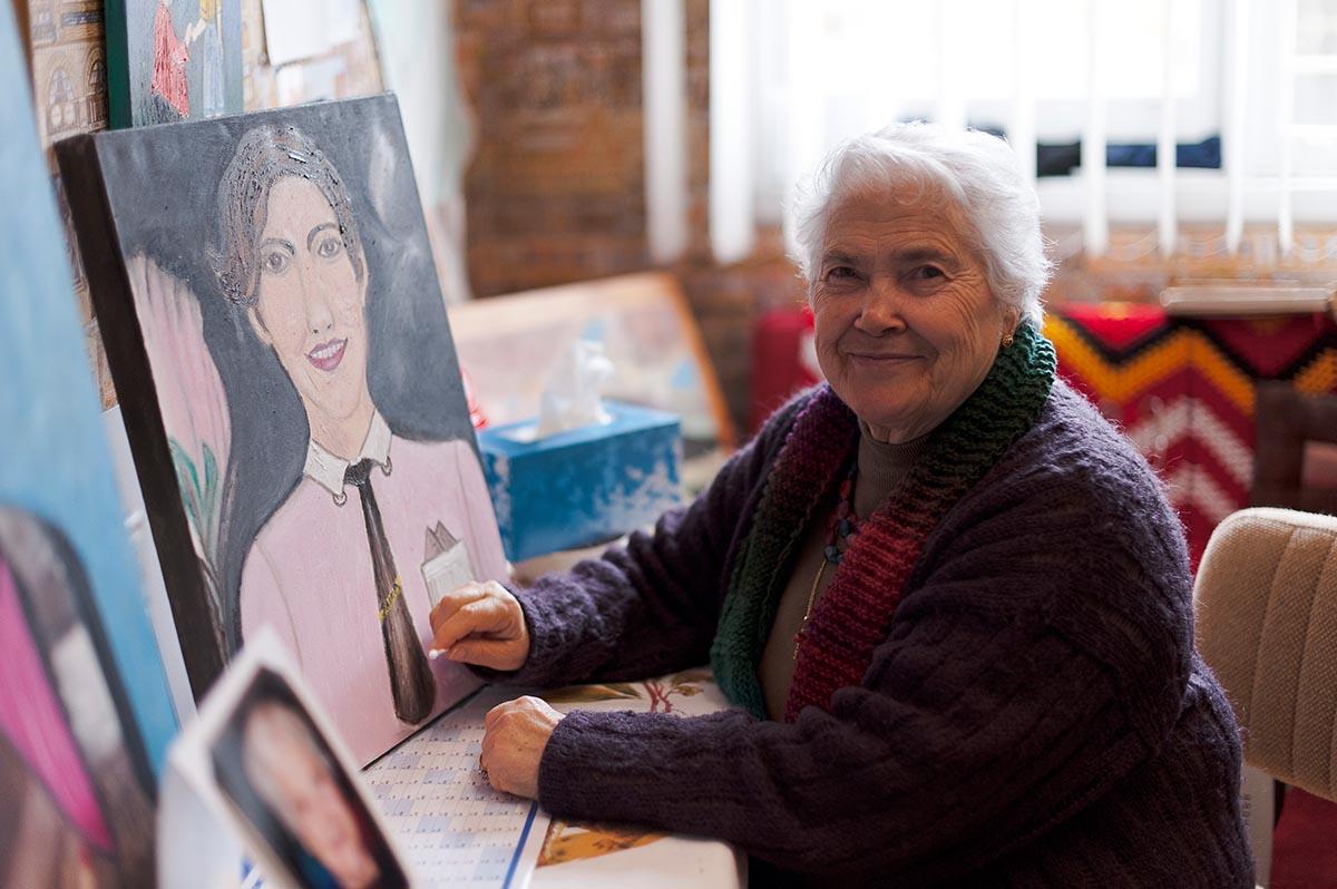 Rosa, dall'Abruzzo <br />a Melbourne: <br />la memoria, la fantasia <br />e il potere curativo dell'arte