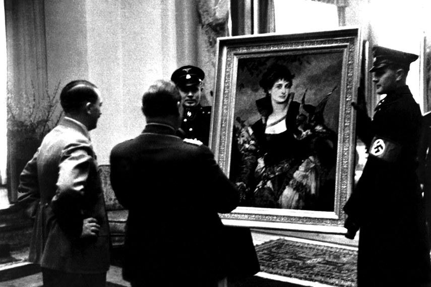 Quel demonio di Goering, <br />avido collezionista d'arte