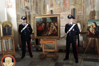 Monza, recuperate dai carabinieri tre importanti opere trafugate dai nazisti