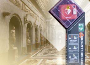 Installati ai Musei Vaticani 18 defibrillatori: i primi in Italia