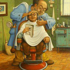 """Che tipi sono i romagnoli te li dipingo io, Giuseppe """"Pino"""" Boschetti"""
