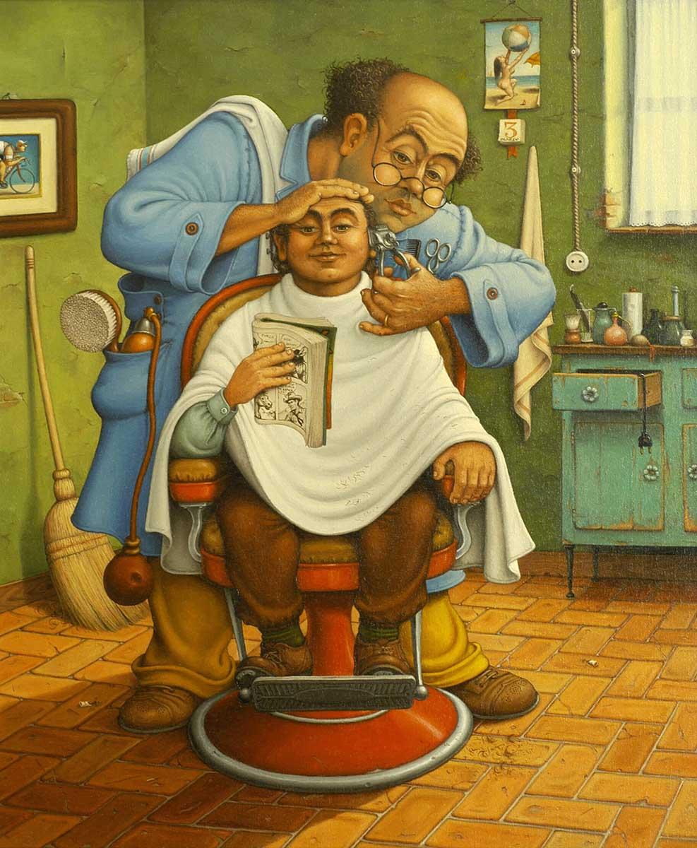 """Che tipi sono i romagnoli <br />te li dipingo io, <br />Giuseppe """"Pino"""" Boschetti"""