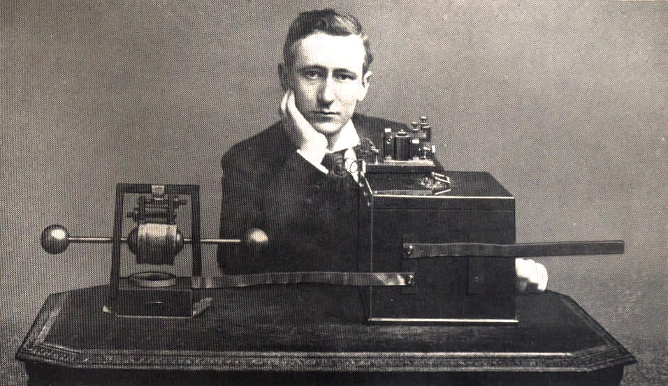 Guglielmo Marconi, <br />genietto a Pontecchio <br />nato con le antenne