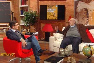"""Salvatore Giannella a Community (RAI) presenta """"Fausto Coppi. La mia vita di corsa"""""""