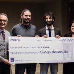 Nell'esercito del bene AXA premia la start-up veneta Mivoq che vuole dare voce a chi rischia di perderla