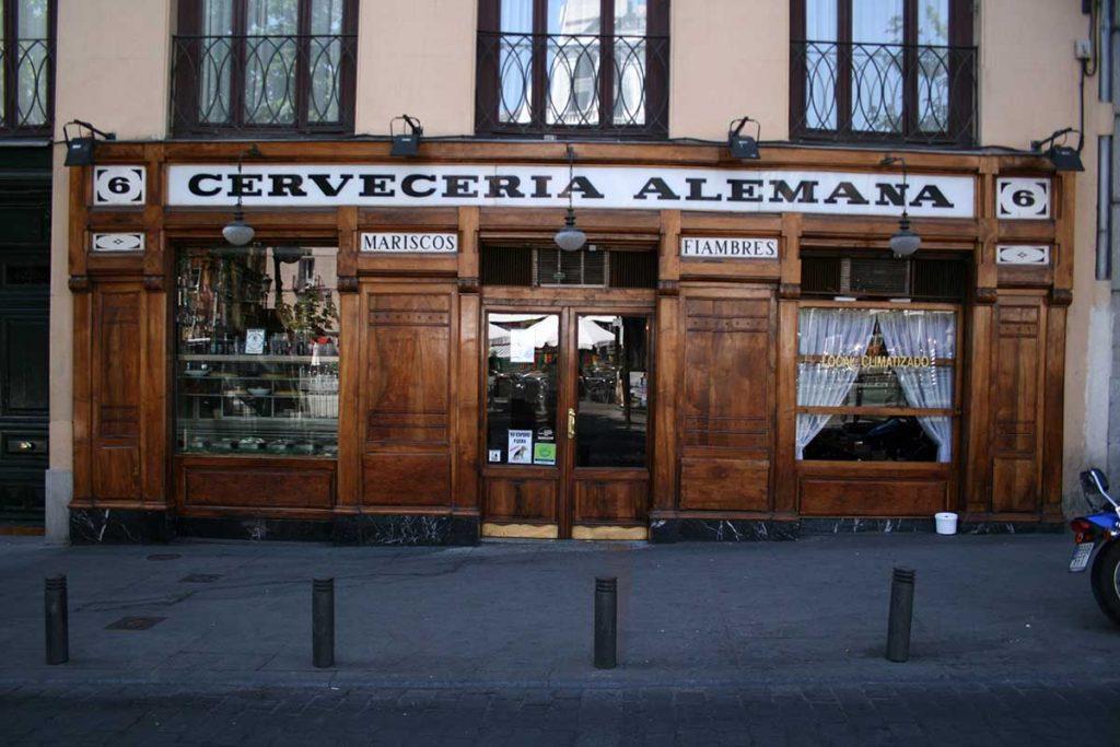 migliori-locali-ristoranti-madrid-Cervecería-alemana