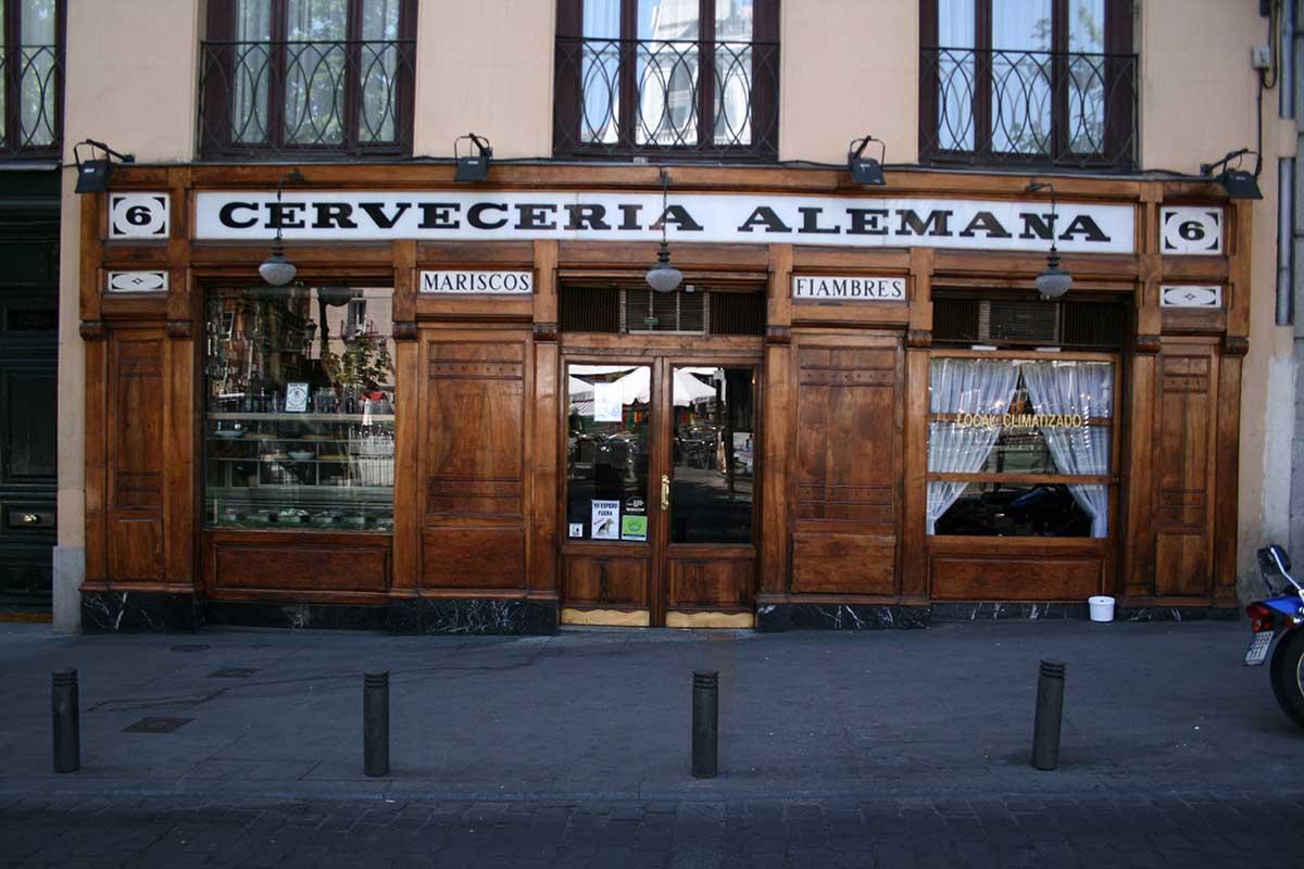 Cervecería-alemana-Madrid