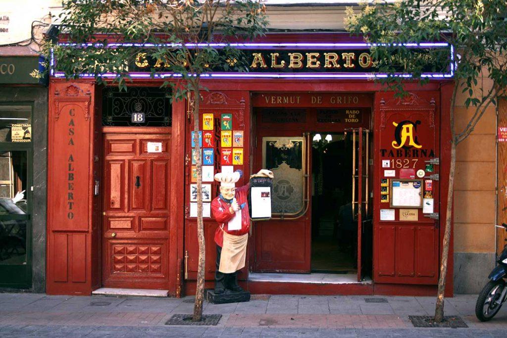 migliori-locali-ristoranti-madrid-Casa-Alberto