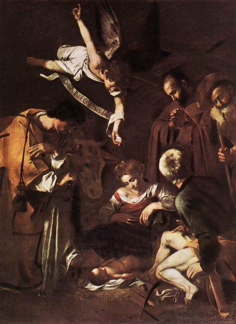 La Natività di Caravaggio