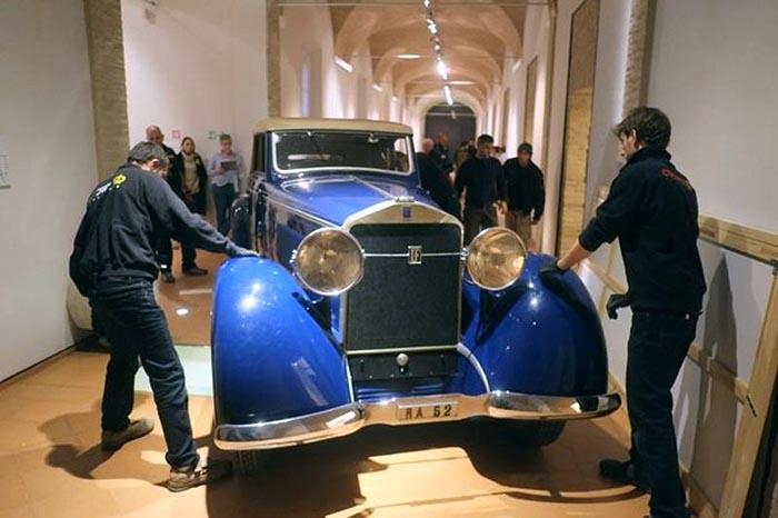 Isotta-Fraschini-automobile-Gabriele-DAnnunzio