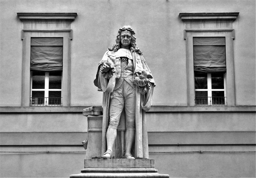 forlì-Morgagni-statua