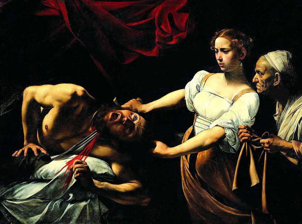 Caravaggio-Giuditta-Oloferne