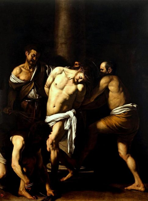 caravaggio-Flagellazione-di-Cristo-(1607)