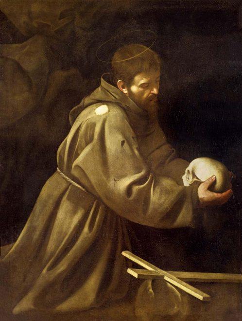 caravaggio-San-Francesco-in-meditazione-(1606)