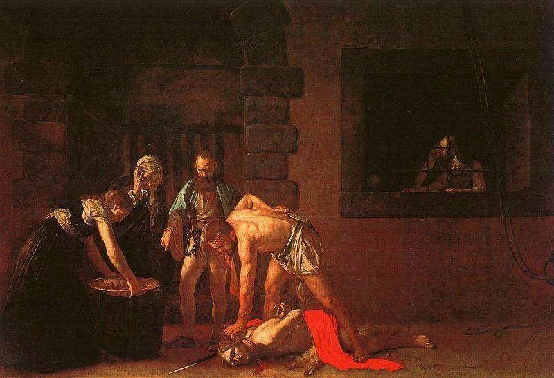 caravaggio-decollazione-di-San-Giovanni-Battista-(1608)