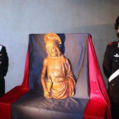 Ritrovato dopo 70 anni il Cristo rubato a Lucca dai nazisti