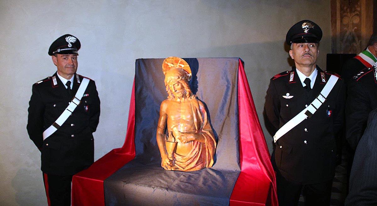 Ritrovato dopo 70 anni il Cristo <br />rubato a Lucca dai nazisti