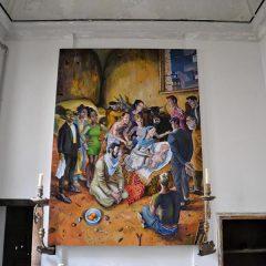 A Palermo il Caravaggio trafugato rivive anche quest'anno con la Natività di Alessandro Bazan