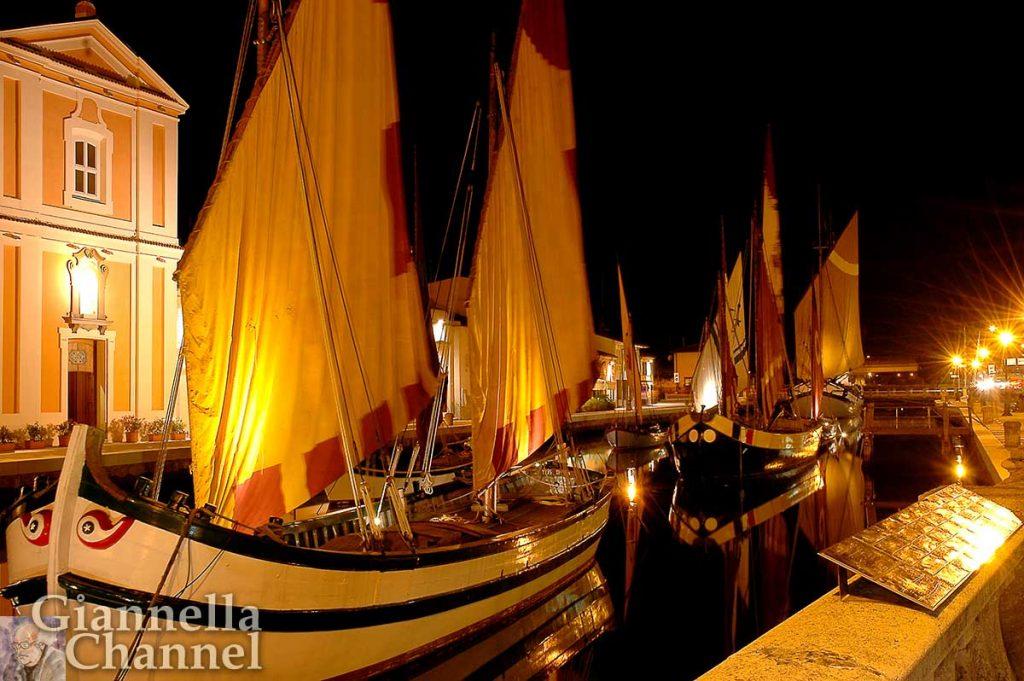 cesenatico-porto-canale-sera