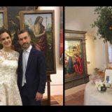 Restaurano due quadri invece di bomboniere: l'ammirevole gesto di due sposi in Romagna (che premiamo con un weekend in un hotel-museo a Pesaro)