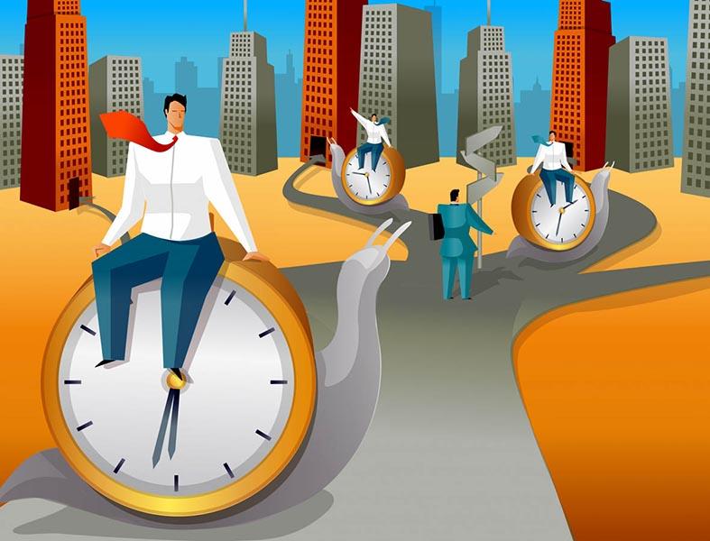 La vita slow: rallentare <br />rende più efficienti e felici