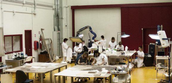 Sisma in Umbria: 260 opere messe in sicurezza da 10 giovani restauratori fiorentini