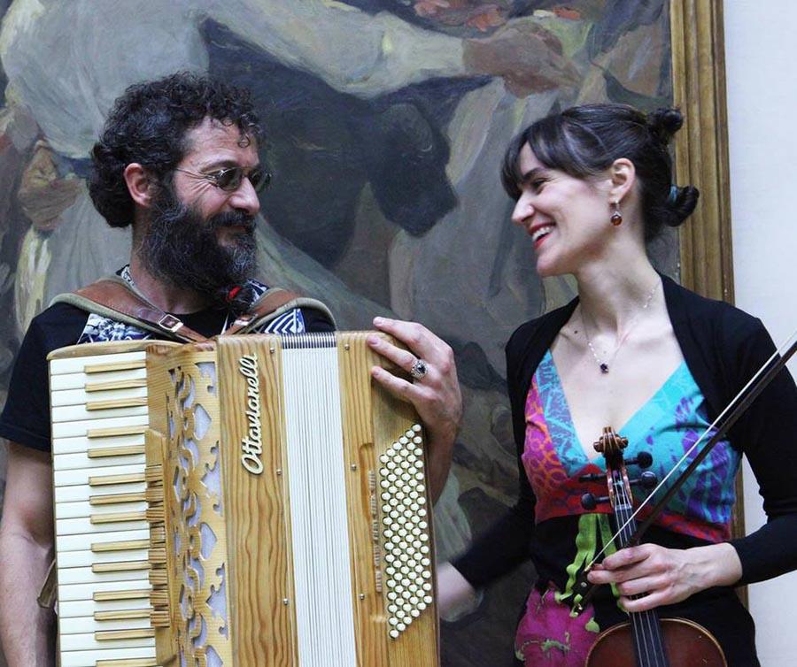Eloisa Manera e Simone Zanchini
