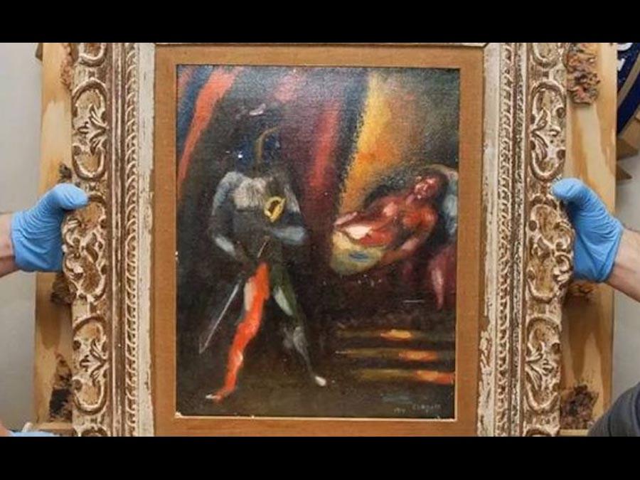 Il mistero dello Chagall rubato <br />è stato risolto dall'FBI. <br />Trent'anni per far chiarezza