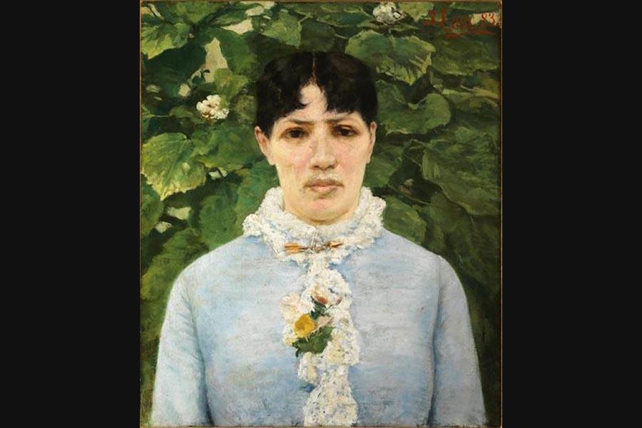La figlia di un grande collezionista <br />dona agli Uffizi di Firenze <br />un dipinto di Silvestro Lega