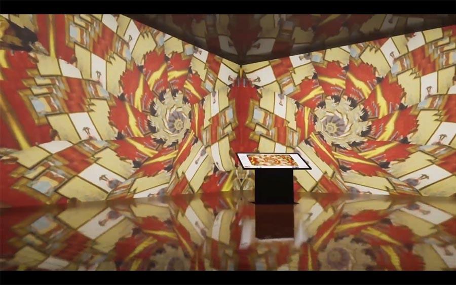 Nei musei americani, Streamcolors <br />(di Giuliana e Giacomo Giannella) <br />reinventa l'arte. Parola di <i>Corriere.it</i>