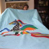 Sulle ali dell'Ippogrifo nel mare di tela di Anna Maria Nanni