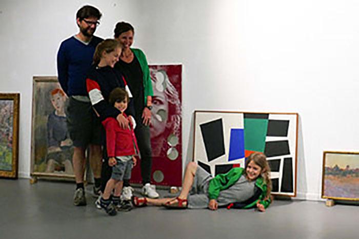 Il museo chiude per lavori? <br />Le opere vanno <br />nelle case dei cittadini belgi