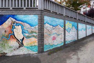 Fiocco rosa per il Piemonte: anche Quarna Sopra diventa un paese dipinto
