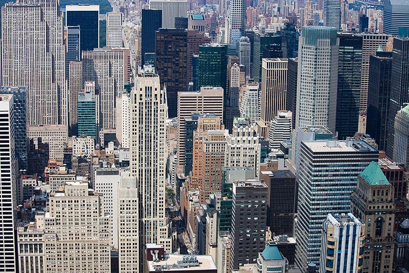 Selva di grattacieli a New York. (Foto di Giulio Andreini)