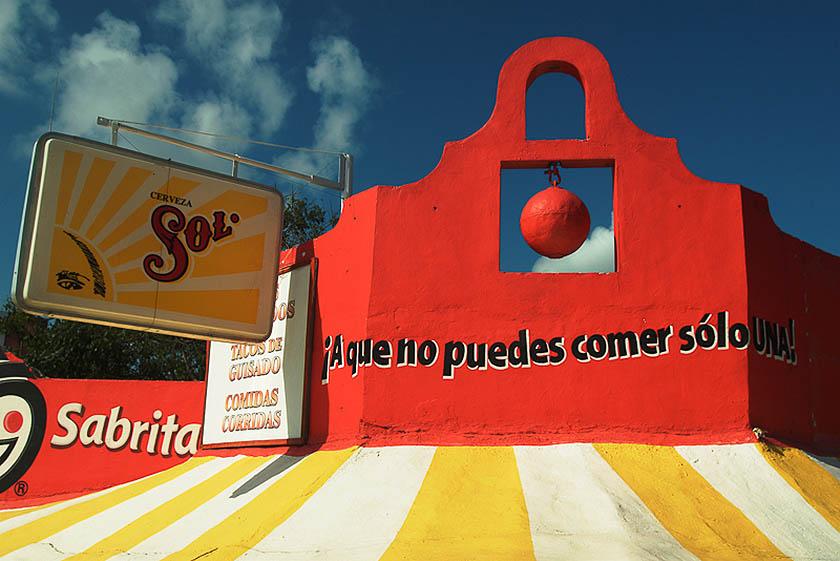 Messico, Yucatan: la parola ai muri. (Foto di Marco Santini)