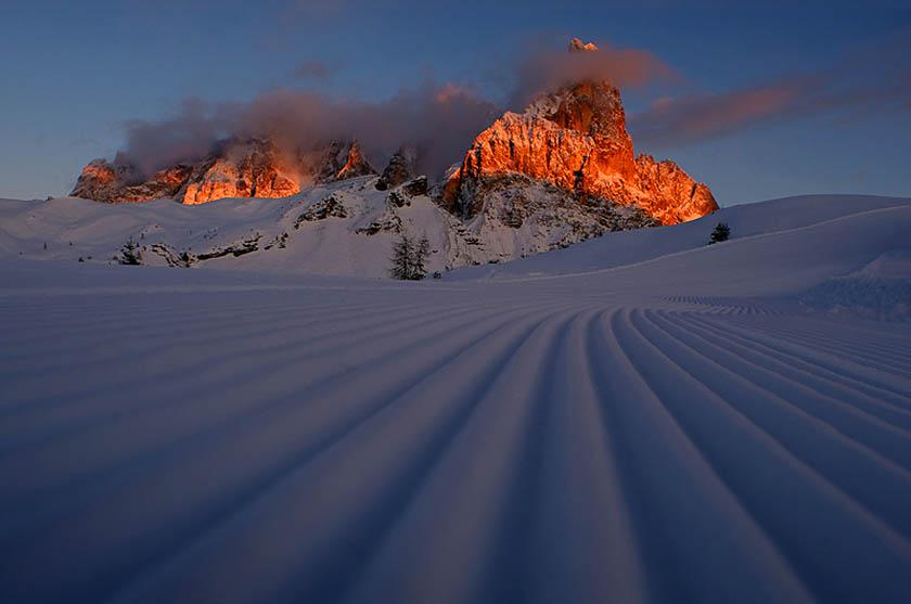 Nel 2009 l'UNESCO ha iscritto nel Patrimonio Mondiale dell'Umanità le Dolomiti per la loro bellezza e unicità paesaggistica. (Foto di Pierluigi Orler).