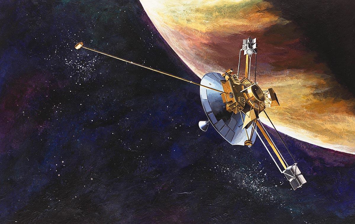 Buon viaggio Pioneer 10, <br />portaci tutti nell'infinito
