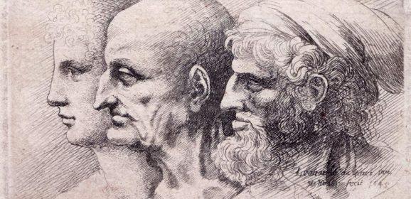 Leonardo disegnato da Hollar, le caricature del genio esposte a Vinci per il varo della nuova Fondazione Rossana & Carlo Pedretti (e un libro sui suoi 20 anni a Milano)