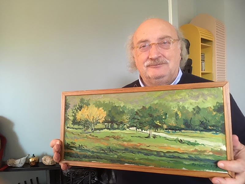 Mio nonno Rotondi, <br />salvatore dell'arte <br />e anche felice pittore