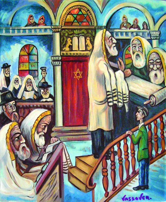 "Vassover, ""Preghiera al tempio"""